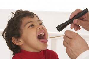 Enfant - Inflammation des  Amygdales