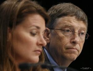 Bill a Melinda Gatesovci TASR